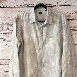 Cotton flannel button-down